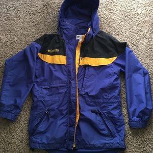 Columbia jacket with fleece liner!